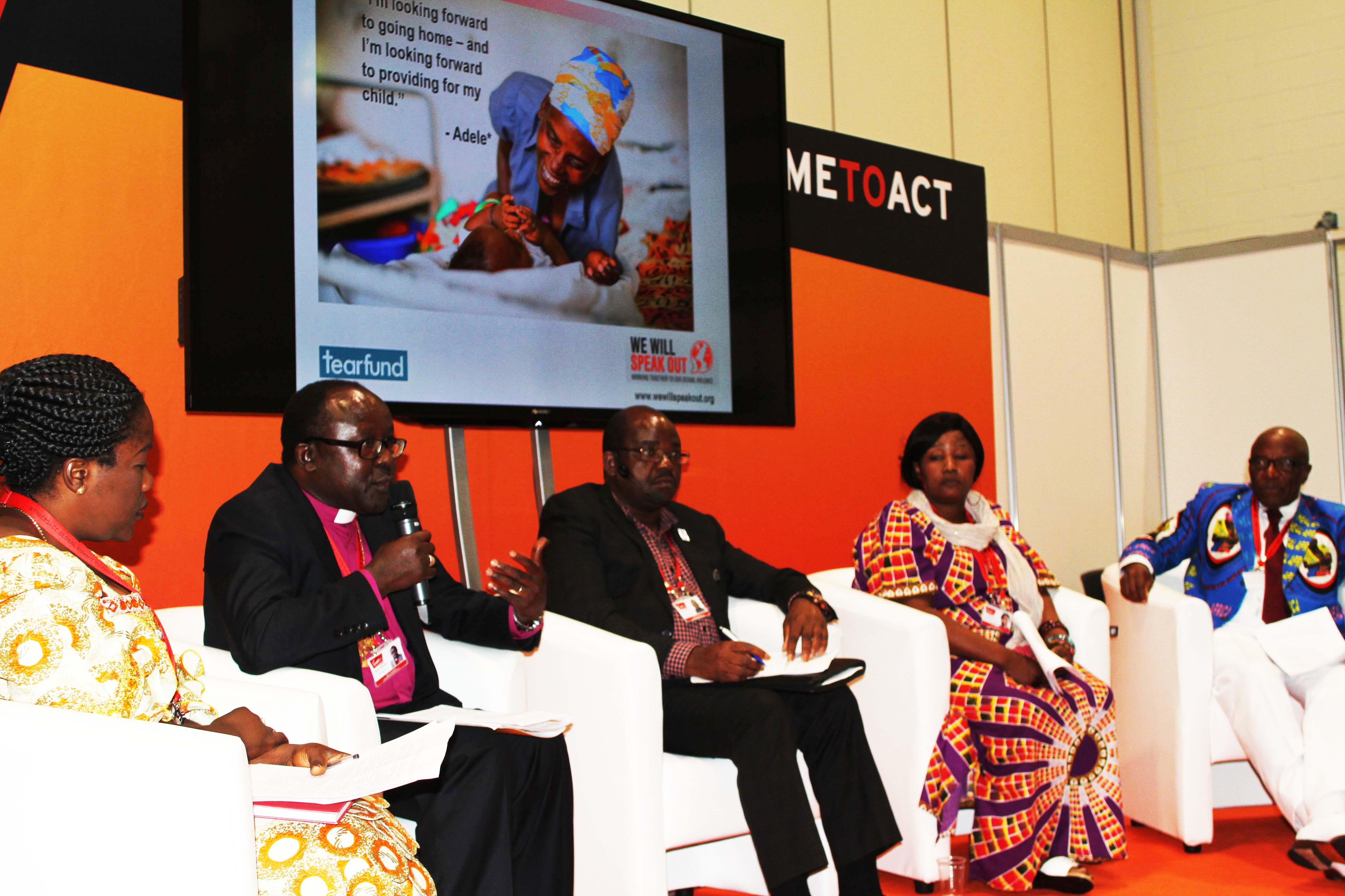 DRC Panel at Global Summit