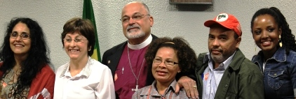 Bishop Mauricio Andrade, La Via Campesina